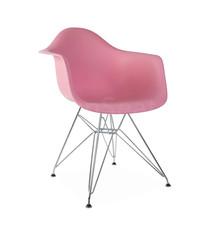 DAR Eames Design Stoel Roze 4 kleuren