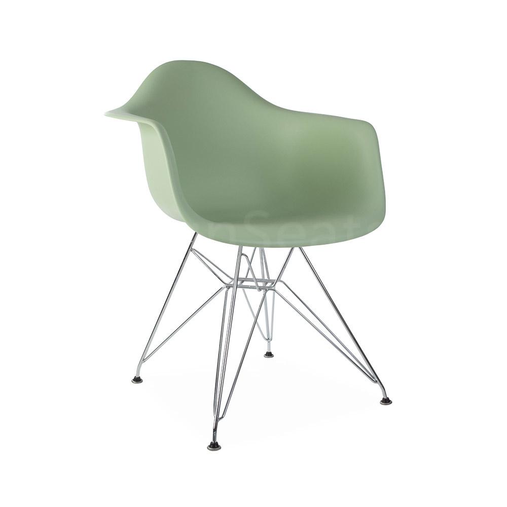 DAR Eames Design Chair Green