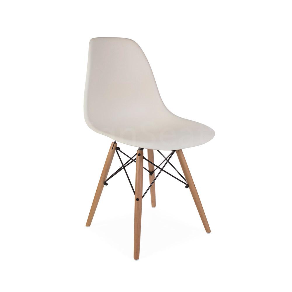DSW Eames Design stoel Wit 2 kleuren