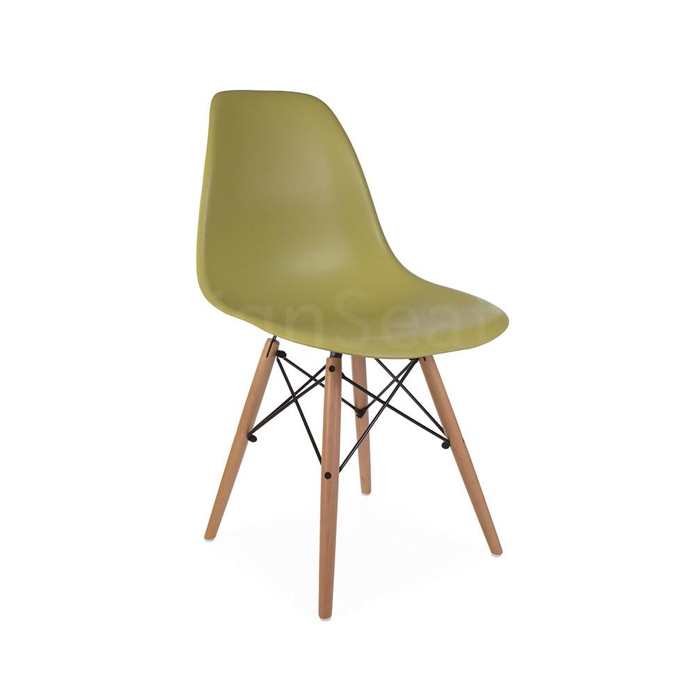 DSW Eames Design stoel Groen 5 kleuren