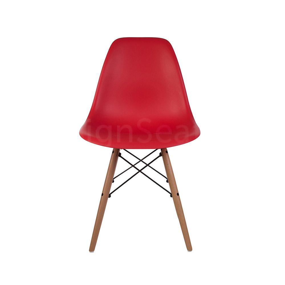 DSW Eames Design stoel Rood