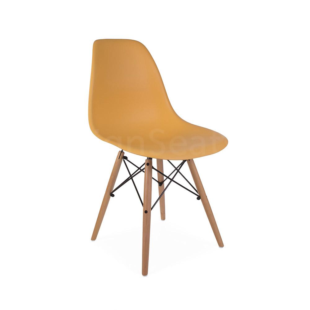 DSW Eames Design stoel Oranje 3 kleuren