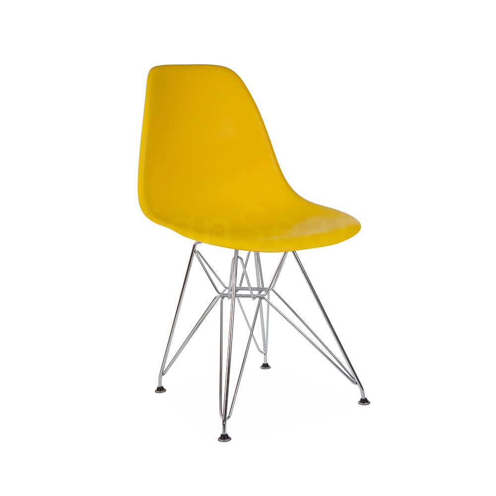 DSR Eames Design stoel Yellow 3 colors