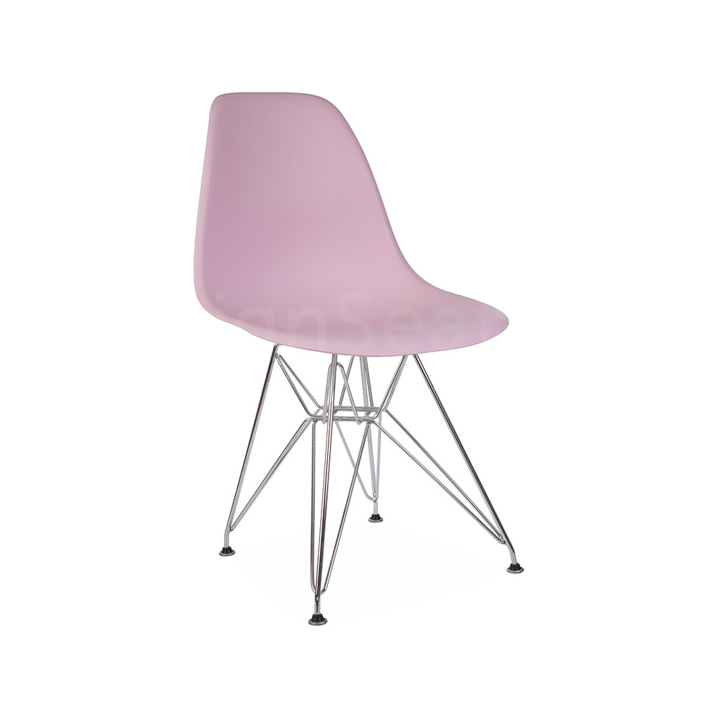 DSR Eames Design stoel Roze 4 kleuren
