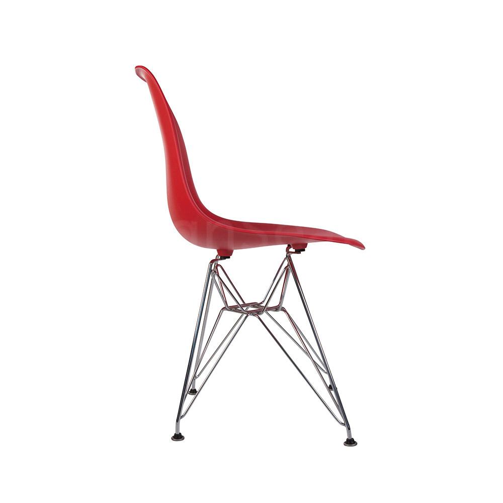 DSR Eames Design stoel Rood