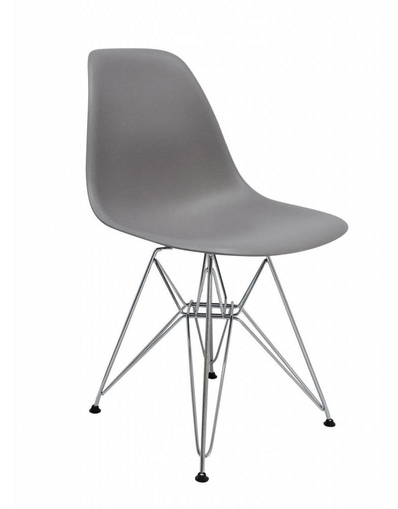 DSR Eames Design Stoel Grijs 3 kleuren