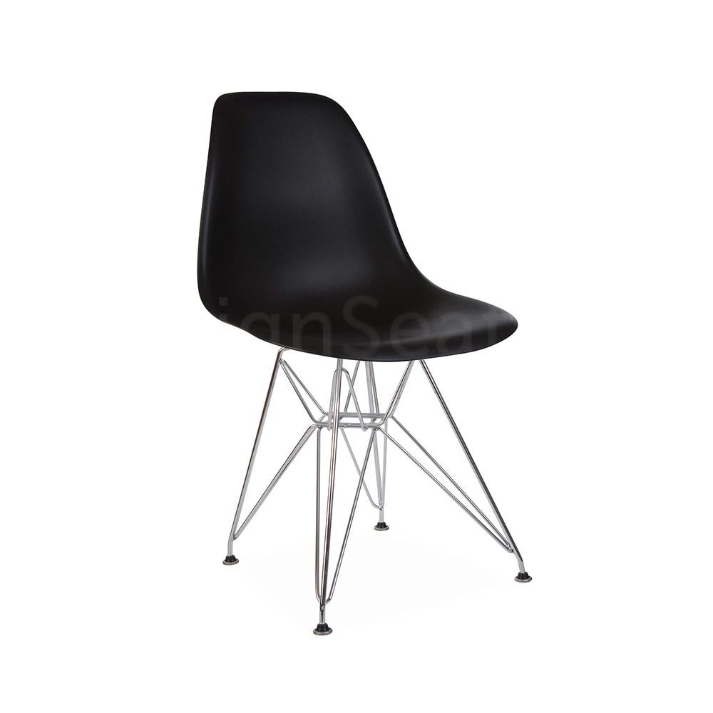 DSR Eames Design Stoel Zwart