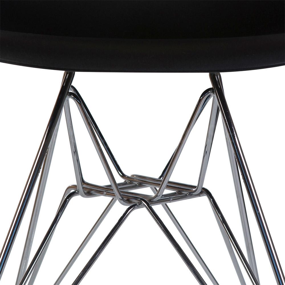 DSR Eames Design Stoel Black