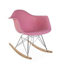 RAR Eames Design Schommelstoel Roze 4 kleuren
