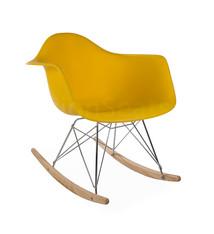 RAR Eames Design Rocking Chair Yellow 3 colors