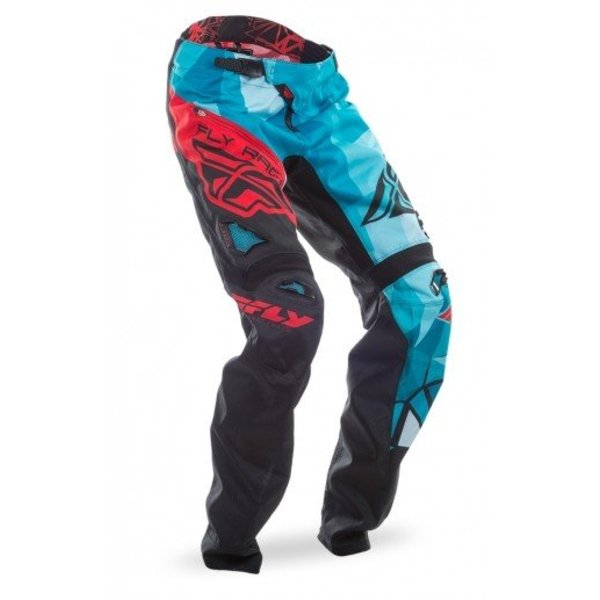 Fly Kinetic Bukse Crux Teal/Red