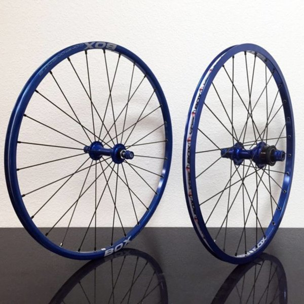 """Promax BMX Hjulsett 20""""x1-1/8 Blå"""