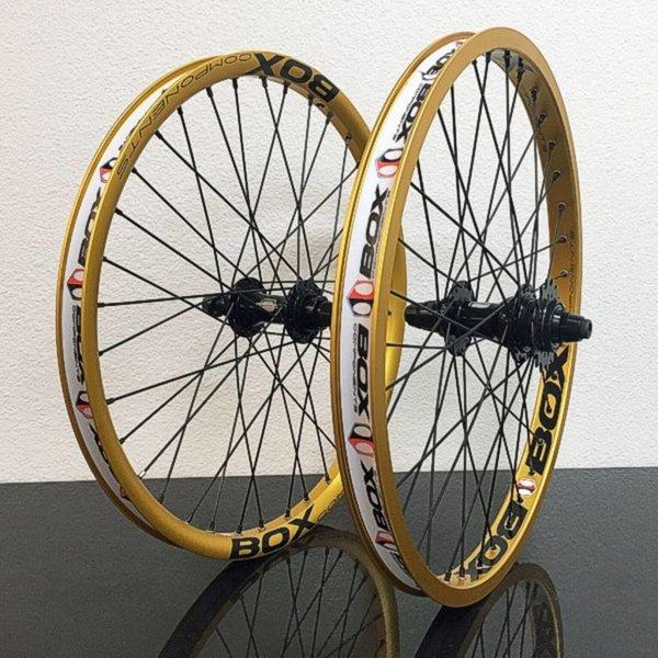 "Promax BMX Hjulsett 20""x1,75 Gull"