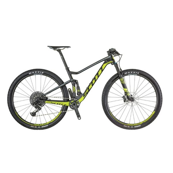 Scott Spark RC 900 Pro Sort/Neon