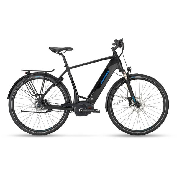 Stevens E-Courier Luxe 500Wh Stealth Black 18 Gent