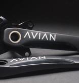 Avian BMX Avian Cadence 2pc Krank Sort