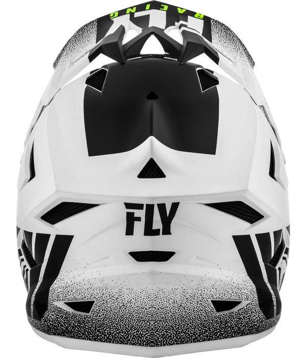 Fly Racing Fly Default Hjelm Hvit/Sort 19