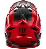 Fly Racing Fly Default Hjelm Rød 19