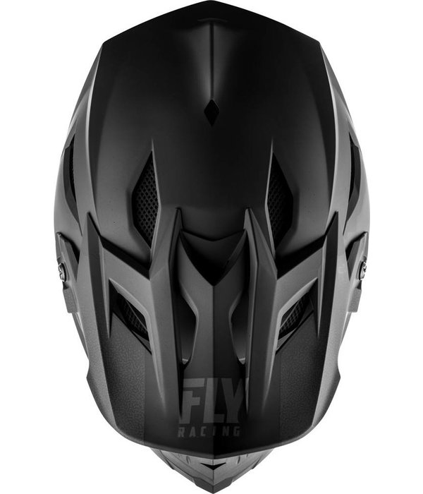 Fly Racing Fly Default Hjelm Matte Sort 19