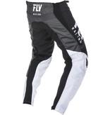 Fly Racing Fly F-16 Bukse 19 Sort/Hvit/Grå