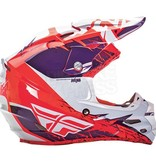 Fly Racing Fly Racing F2 Carbon MIPS Hjelm - Purple Orange