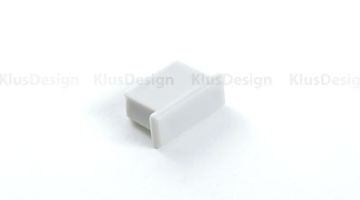 Klus Design Afsluitkap Micro-Alu profiel
