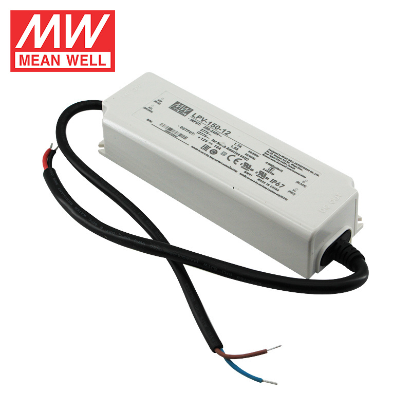 Mean Well LED Voeding 12V 150W