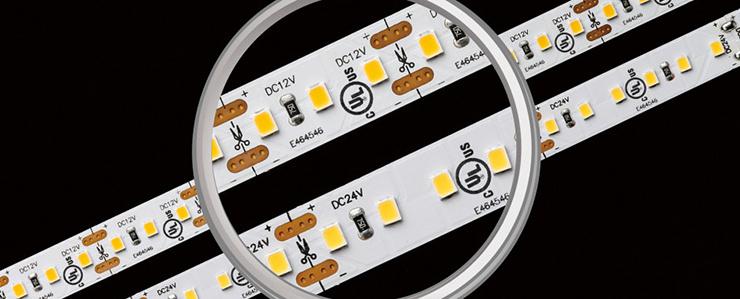 Vallas LED strip 120leds/m 3000K 19.2w/m hoge CRI IP67