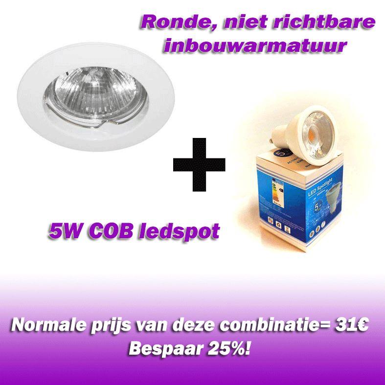 Vallas Inbouwkit Indigo KS1002 inclusief LED lamp