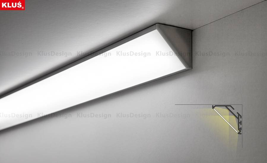 Klus Design Klus Design KOPRO aluminium hoekprofiel
