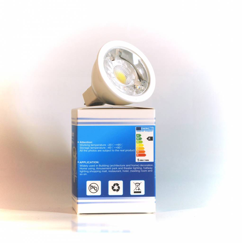 Vallas Vallas 5W COB LED spot High CRI