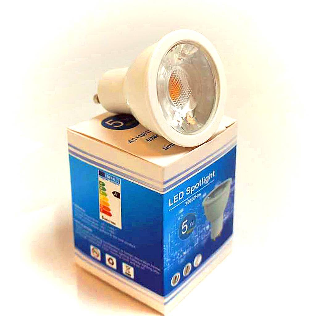 Vallas PROMOPACK 10 x 5W COB LED GU10
