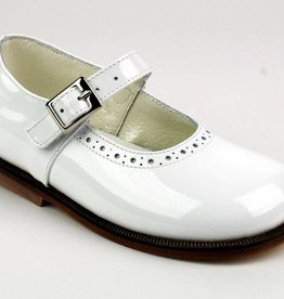 Pinocchio Pinocchio Ballerina Dress Shoe White