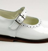 Pinocchio Pinocchio Ballerina Dress Shoe White P1350