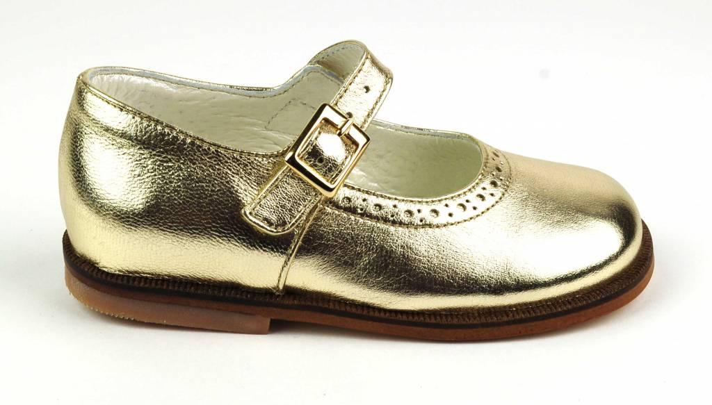 Pinocchio Pinocchio Ballerina Dress Shoe Platinum P1350