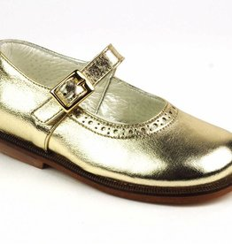 Pinocchio Pinocchio Ballerina Dress Shoe Platinum