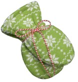 Hopsan Hopsan Snowstar Mini Gloves Green/Creme