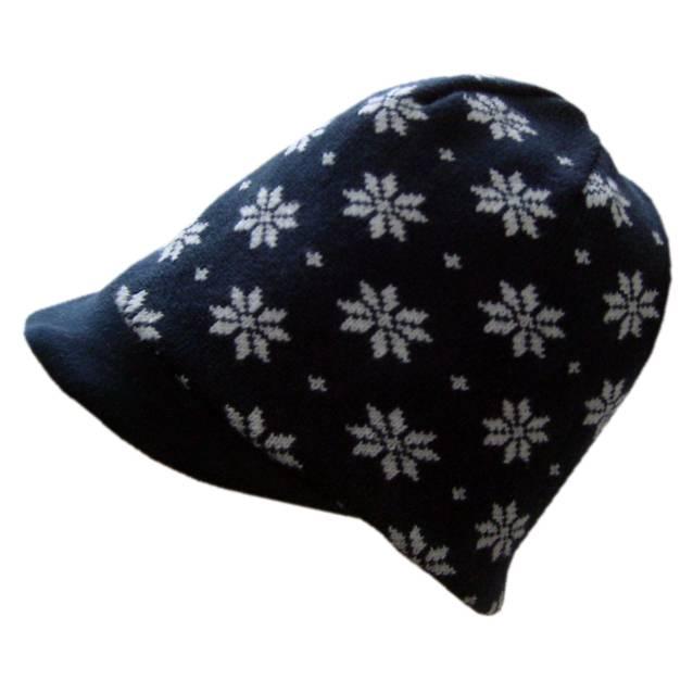 Hopsan Hopsan Snowstar Cap Navy/Creme