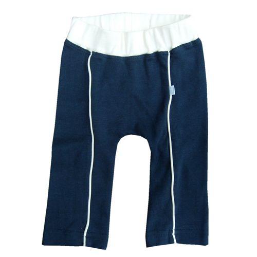 Hopsan Hopsan Piping Pant Marineblauw/Creme