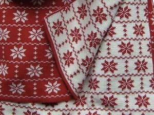 Hopsan Hopsan Blanket Red/Creme