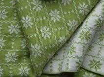 Hopsan Hopsan Blanket Groen/Creme