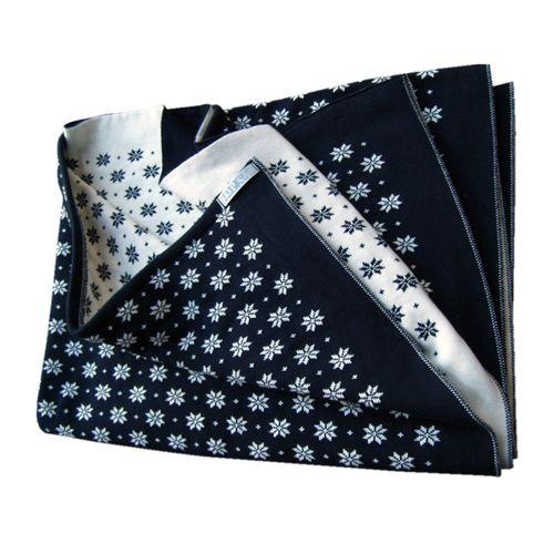 Hopsan Hopsan Blanket XL Navy/Creme