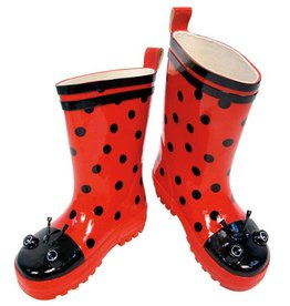 Kidorable Kidorable Ladybug Rain Boots