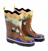 Kidorable Kidorable Pirate Rain Boots
