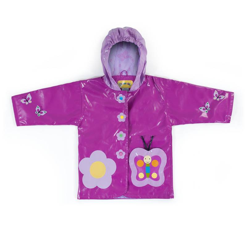 Kidorable Kidorable Waterproof Butterfly Rain Coat