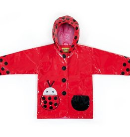 Kidorable Kidorable Rain Coat Ladybug