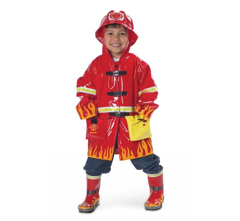 Kidorable Kidorable Waterproof Fireman Rain Coat