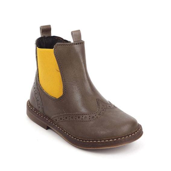 Pinocchio Pinocchio Boot P1510 Tim Brown Elastic With Zip