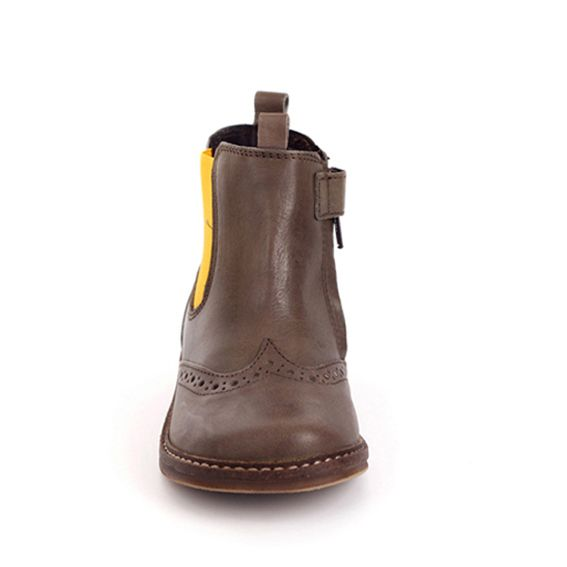 Pinocchio Pinocchio Boot P1510 Tim Brown Elastic With Zip