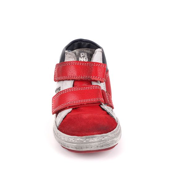 Pinocchio Pinocchio Sneaker P1523 Gomez Red Velcro